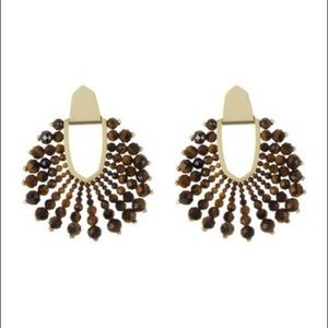 NWT Kendra Scott Diane Beaded Earrings